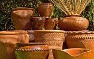 Temi Pottery sells terracotta pots in all shapes and sizes