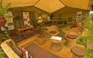 Karibu Fare annual setting presenting Rivergardens and Earth Products
